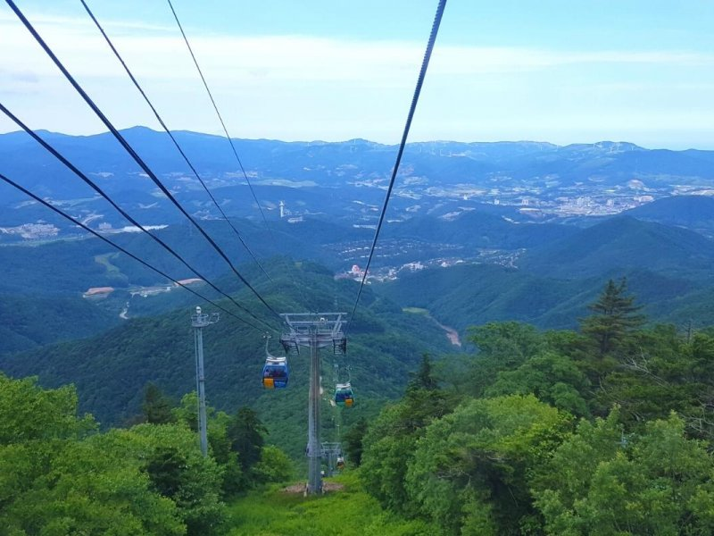 Balwangsan Mountain - Cable Car