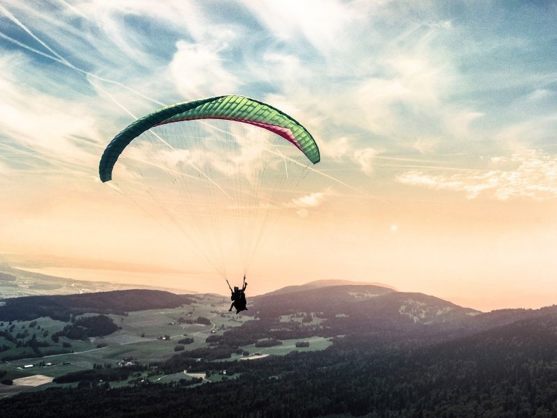 Paragliding in Chungcheongbuk-do