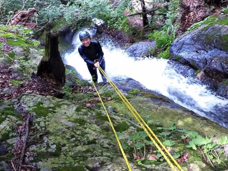 Canyoning near Gapyeong