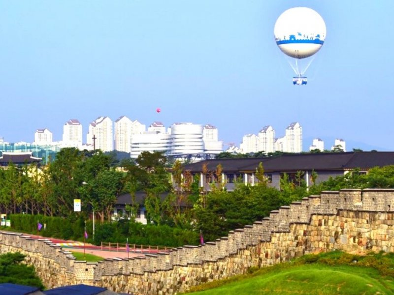 Flying Suwon: Hot Air Balloon Ride