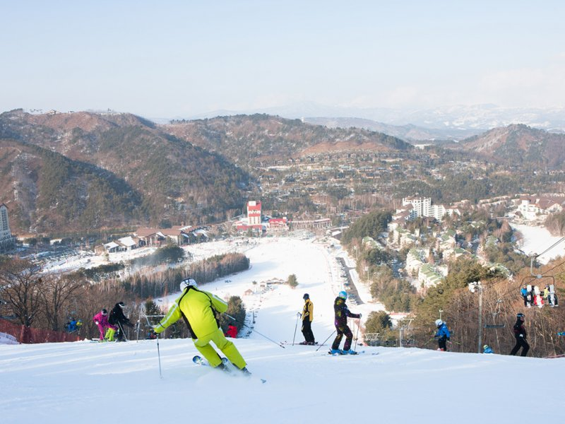 Yongpyong Resort Self-Guided Ski Tour