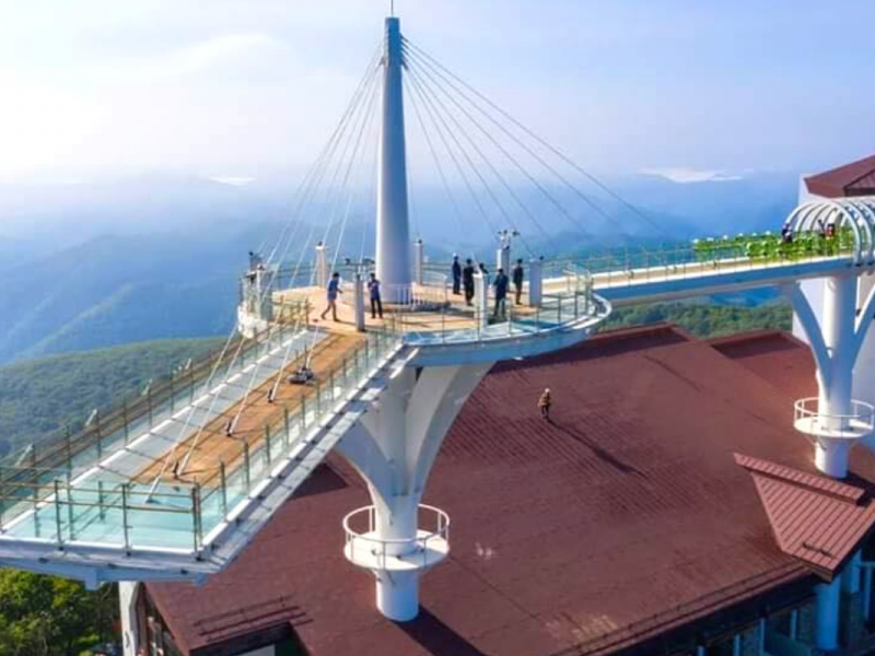 Balwangsan Mountain - Sky Walk